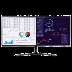 ECRAN 34'' SAMSUNG LS34J550WQR Ultra WQHD VA- 4ms - 300cd/m² 3000:1 HDMI Display Port Casque 75Hz Standard