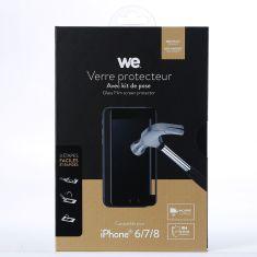 Verre protecteur avec Kit de pose iPhone 6/6S - 7 - 8 - Verre trempé Full cover