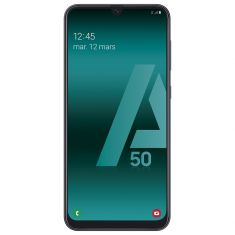 Smartphone Galaxy A50 NOIR 128Go Android Pie Octo Core 2.3 Ghz Triple capteur grand angle 123° Ecran  6.4'' FHD+super Amoled