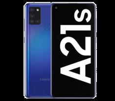 "Smartphone Galaxy A21s BLEU OctoCore2 GHz  32 Go  Ram  3Go Ecran 6,5"" HD+ TFT LCD batt 5000mAh - DAS tête=0,422 W/kg"