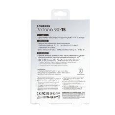 SSD EXT SAMSUNG T5 1000G MU-PA1T0B/EU Finition métal couleur noir