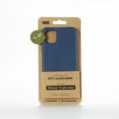 WE Coque de protection 100% biodégradable et compostable pour APPLE IPHONE 11 PRO MAX Bleu Respectueux de l'environnement
