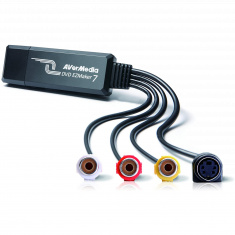 AVERMEDIA DVD EZMAKER 7 C039BH Boîtier d'acquisition Vidéo SD pour numériser VHS 61C039XX00BH