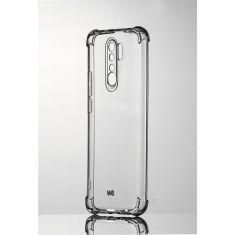 WE Coque de protection transparente pour XIAOMI REDMI 9 Fabriqué en TPU. Ultra résistan Apparence du téléphone conservée.