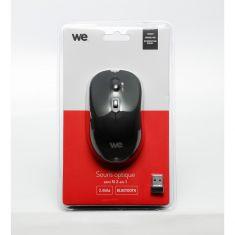 Souris 2-en-1 2.4GHz + Bluetooth 4.0 1600 DPI Noir