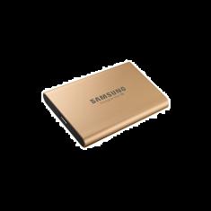 SSD EXT SAMSUNG T5 500G Finition métal couleur Gold MU-PA500G/EU