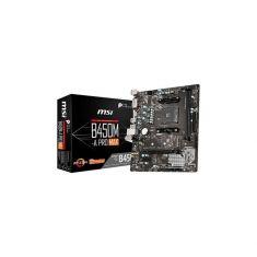CM MSI B450M-A PRO MAX AMD RYZEN 9 AMD® B450 DDR4 32Gb PCI-E 3.0x16 DVI-D HDMI 6xUSB 3.0 6xUSB 2.0 Realtek® ALC892 Codec