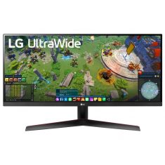 "ECRAN LG 29"" Noir  29WP60G-B 21:9 UWFHD 1ms 2560×1080 250cd/m2 HDMI DisplayPort USB FreeSync HDR 10 BlackStabilizer Mode DAS Inclinais"
