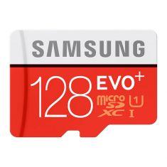 CARTE MEMOIRE SAMSUNG M-SD 128G ADA MICRO SD EVO PLUS avec ADAPT. SD MB-MC128DA/EU - classe 10