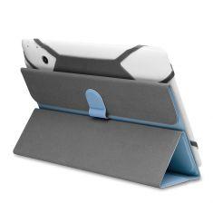 H-720 TPU Noir Housse Universelle pour tablette 7' Attaches en silicone ajustables Porte-cartes - Nanomatériaux