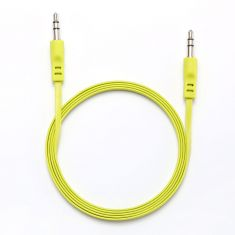 Câble Jack/Jack M/M plat 1.50m - vert 3.5mm