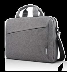 """Lenovo Sacoche Laptop Casual 15.6"""" Polyester gris 400x300x55mm toile hydrofuge design simple et élégant Solide GX40Q17231"""