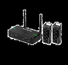 AVERMEDIA Micro sans fil pour Enseigant et formateur avec base de Rechargement/rangement 15-20 metres anti-interférences AW315S