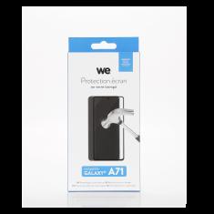 Protection d'écran Galaxy A71 Verre trempé - Full Glue - 2.5D Anti-rayures - Anti-reflets
