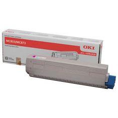 OKI Consommables Toner Magenta 7300 pages pour MC853/873 originale / 45862838