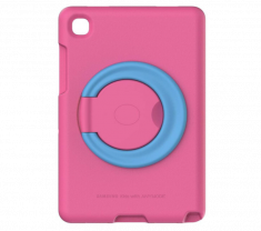 Kids Cover Galaxy Tab A7 Rose Crée pour les enfants - Legere et renforcee Antichocs Matiere EVA + Support SAMSUNG - GP-FPT505AMAEW