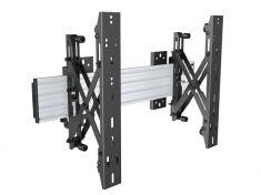 """pop out MBW1U Silver pour moniteur 101,6cm 40"""" 165,1cm 65"""" Capacité 30 kg VESA 100 x100 600x400 mm"""