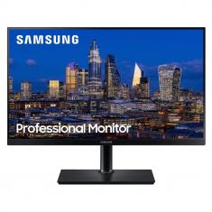 "ECRAN 27"" SAMSUNG LF27T850QWR WQHD PLS 4ms - 350cd/m² 1000:1 - HDMI USB Display port 75Hz Plat - Pivot Inclinable NOIR"