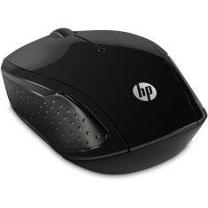 Souris sans fil HP 200 noire Résolution capteur 1000 dpi X6W31AA 1er prix souris sans fil