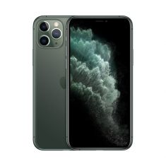 "iPhone 11 Pro 64 GB Midnight Green iOS 13 2 436x1 125 pixels à 458ppp OLED Multi-Touch tout écran de 5.8"" APPLE   MWC62ZD/A"