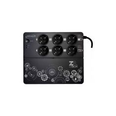 Onduleur INFOSEC Z3 ZenBox EX 700 Onduleur Haute Fréquence 700 VA 8 Prises FR/SCHUKO Garantie 3 ans 66075