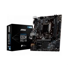 CM MSI MAG B365M PRO-VH Micro-ATX Socket 1151 DDR4 Slot Turbo M.2 en PCI-E Gen3 x4 USB 2.0 HDMI 2xUSB 3.1 B365M PRO-VH