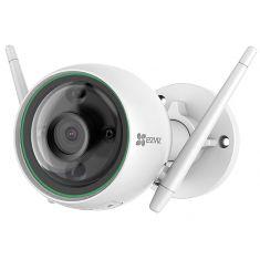 EZVIZ Camera Wifi Exterieur C3N FHD 2.4 Ghz IP67 Dble antenne Détection de mouvement IA Vision Nocturne 30m 102° CS-C3N-A0-3H2WFRL