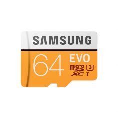 CARTE MEMOIRE SAM. M-SD EVO 64G ADA MICRO SD EVO AVEC ADAPTATEUR SD MB-MP64GA/EU classe 10