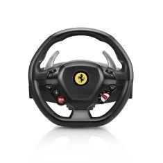 THRUSTMASTER T80 Ferrari 488 GTB edition Ps4/PC  volant + pedalier éplique de la roue Ferrari 488 GTB Volant Rond - Gomme 11 boutons
