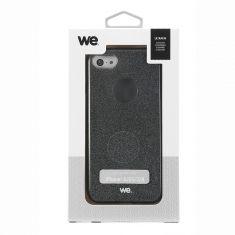 Coque Paillette iPhone 6 - 6S - 7 - 8 Noir - Semi rigide