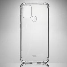 WE Coque de protection transparente pour smartphone Samsung Galaxy A21S Fabriqué en TPU. Ultra résistant Apparence du téléphone conservée.