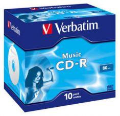 CD-R Musique - 700 Mb - Pack de 10