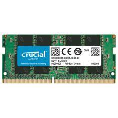 MEMC CRUCIAL SODIMM 8GB DDR4 2666MT/s (PC4-21300) CL19 CT8G4SFRA266