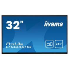 "IIYAMA LFD 32"" 1920x1080 IPS LED Haut-parleurs DP/DVI/HDMI 400cd/m² 1100:1 10ms VESA 200X200 LH3246HS-B1"