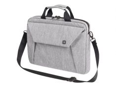 "DICOTA Sacoche Slim Case EDGE Gris Pr PC portable 14""-15.6"" Polyester Mousse EVA Rembouré Multi poches D31388"
