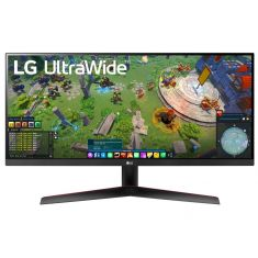 "ECRAN LG 34 "" Noir 34WP65G-B 21:9 UWQHD 1ms 2560X1080 400cd/m2 HDMI Displayport USB FreeSync HDR 400 Inclinaison"