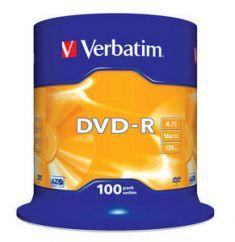 DVD-R - 4,7 Gb - Spindle de 100