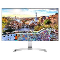 "MONITEUR LG 27"" LED IPS 16:9 5ms Full HD1920 x1080 75Hz VGA HDMI 250 cd/m2 Haut parleurs HDMI cable 27MP89HM-S"