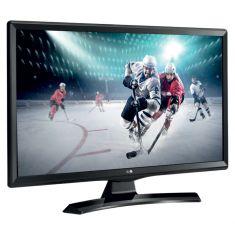 """MONITEUR TV LG 24"""" LED 24TK410V-PZ Résolution HD 1366 x 768 16:9 HPs HDMI - USB 2.0 - Slot CI Mode Gaming et Jeux intégrés"""