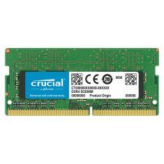 MEMC CRUCIAL SODIMM 8G DDR4 2666MT/s (PC4-21300) CL19 SR x8 260pin CT8G4SFS8266
