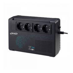 Onduleur INFOSEC Zen Live 650VA FR/SCHUKO Line Interactive 4 Prises FR SCHUKO Garantie 2 ans 66082