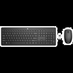 Kit Souris Clavier sans fil HP230 18H24AA Commodite du sans fil Noir