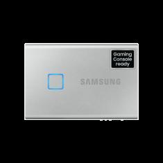 SSD EXT SAMSUNG T7 Touch 1000G Silver USB 3.2 Gen 2 / MU-PC1T0S/WW