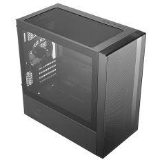 Boitier Cooler Master M-ATX NR400 Micro ATX Mini ATX 4 Slots 2 ventil 120mm 2xUSB 3.0 Baie HDD amovible MCB-NR400-KGNN-S00