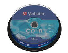 CD-R - 700 Mb - Spindle de 10