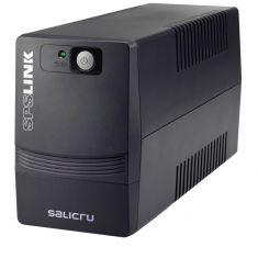 SALICRU Onduleur SPS 850 LINK M USB Noir Line-interactive 650VA USB 4 prises IEC protection surcharge Garantie 3 ans 6A0AD000003