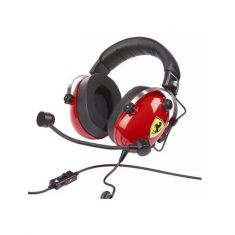 THRUSTMASTER Casque FERRARI T-T.RACING SCUDERIA PS4 XBOX ONE PC MAC DTS Confort exceptionnel licence officielle Ferrari Cable 3M