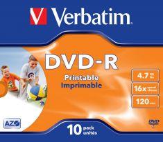 DVD-R - 4,7 Gb - Pack de 10