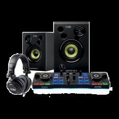 Hercules DJSTARTER KIT WORLWIDE DJControl starlight + DJMoniter 32 CASQUE HDP GJ M 40.2 SERATO DJLite + Guide demarrage rapide