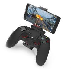 Manette Gaming sans fil Bluetooth / 2.4GHz / filaire Avec clip pour Smartphone Compatible PC, PS3 et Android